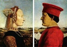 Uffizi Gallery Florence - Piero della Francesca Duke of Urbino and wife