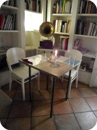 vegetarian and vegan restaurants in Florence - brac table for two