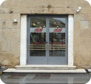 Ataf office in via Alamanni - where to get a free Florence bus map