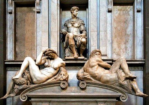 Michelangelo's Day & Night