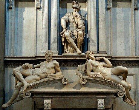 Michelangelo's Dawn & Dusk