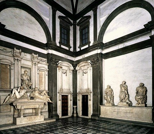 Interior of New Sacristy at the Medici Chapel