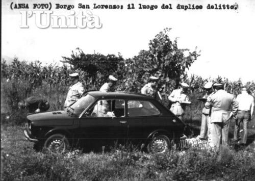 Scene of the crime in 1974