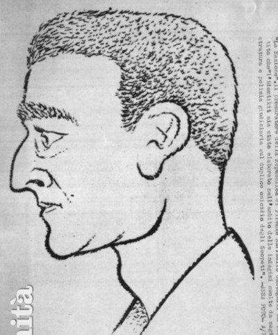 Another police sketch of a possible Monster seen near the Scopeti