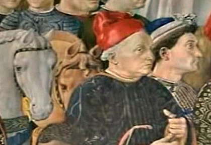 Cosimo the Elder, head of Medici family, man who commissioned the building of the palace