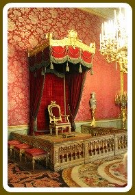 Florence Museums - Pitti Palace Royal Apartments Throne