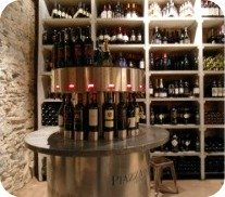 Florence Restaurants - Enoteca - wine machine