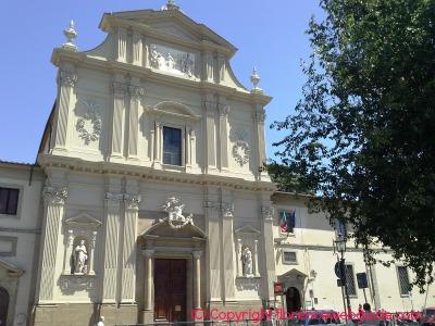 Facade of the San Marco Church
