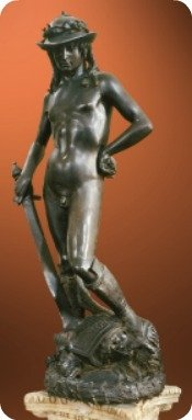 Donatello's bronze David