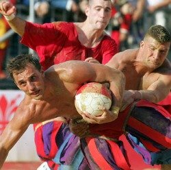 See Calcio Storico matches in Santa Croce in Florence in June
